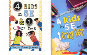 These are some book covers i found on this site: http://4-kids-in-5e-jaden.weebly.com/